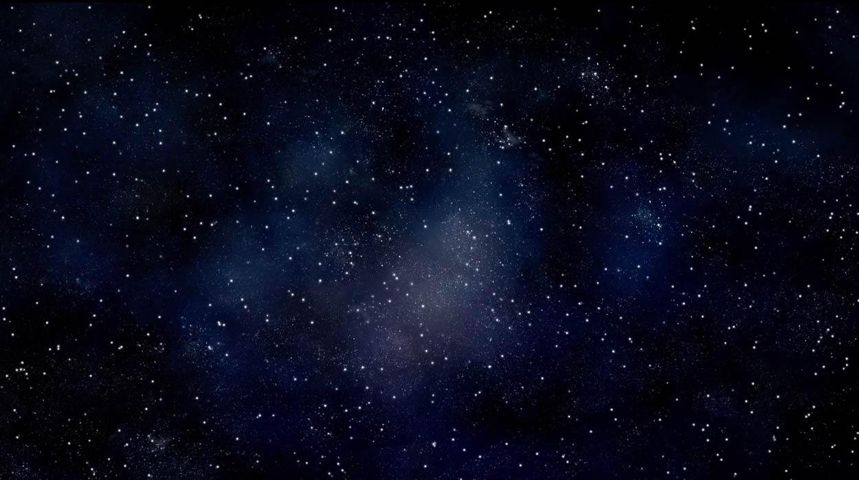 Stars background cover