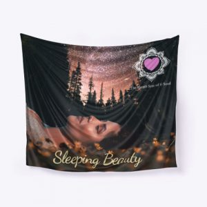 Sleeping Beauty Wall Art Designed By The Change Creative